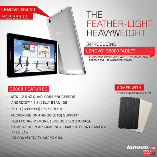 Lenovo S5000 Tablet idea tab
