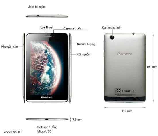 may tinh bang Lenovo idea tab S5000 gia re