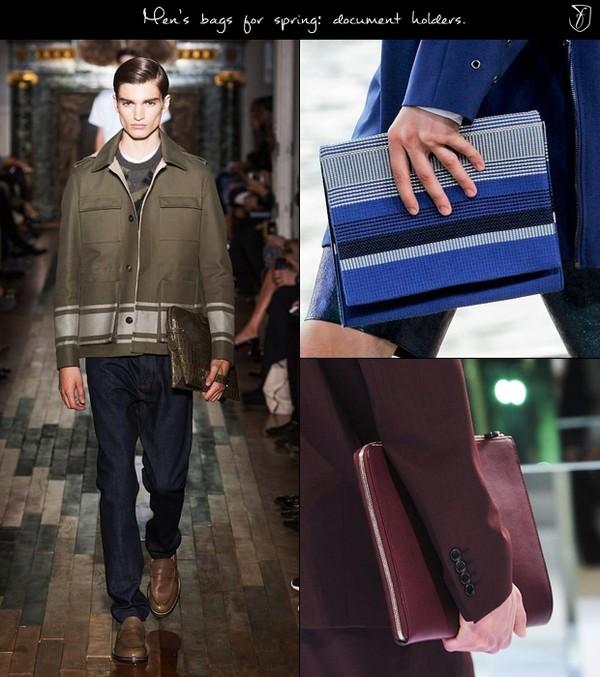 Túi xách nam Folio mạnh mẽ đầy cá tính