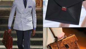 Túi xách nam dạng cặp táp cho vẻ nam tính, khỏe khoắn