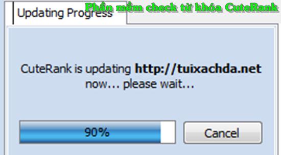 đợi cuterank update từ khóa