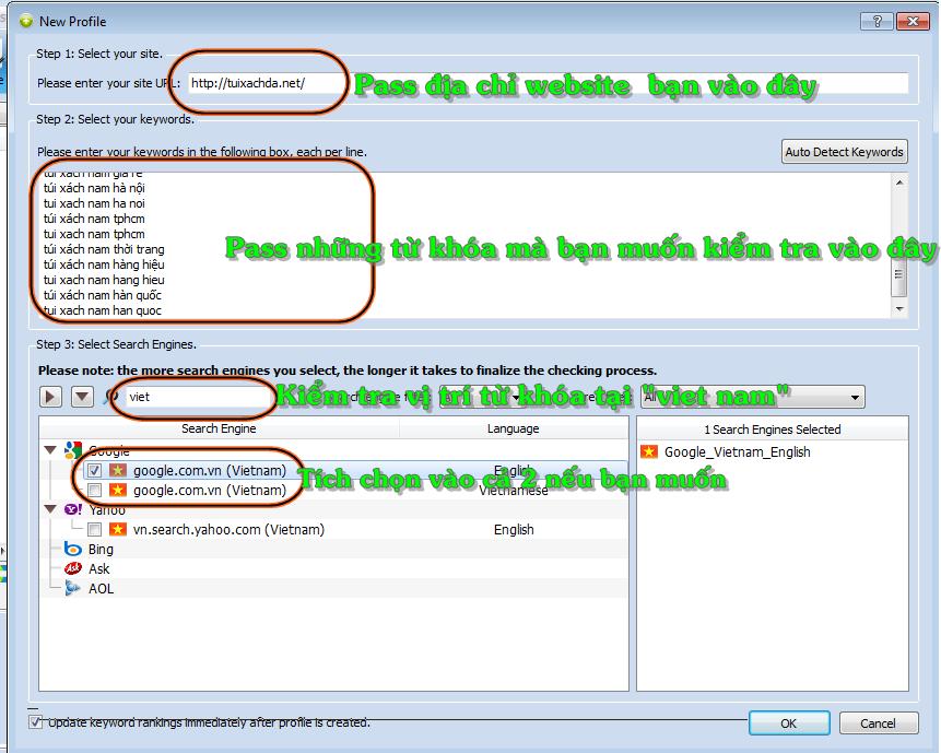 hướng dẫn dùng phần mềm cuterank
