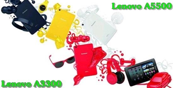 lenovo a3300 và a5500