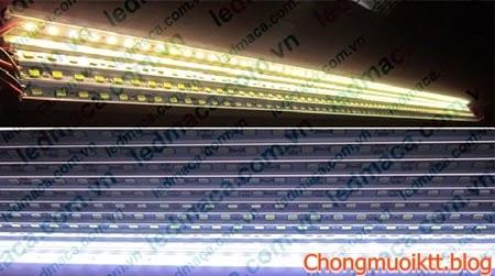 Đèn led dạng thanh ray giúp làm nổi bật những vật thể đồ dùng