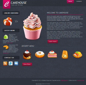 theme-wordpress-Cake-House