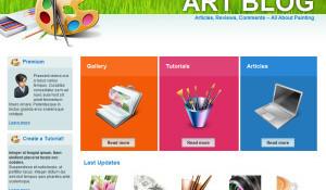 Theme bản quyền miễn phí cho wp mẫu giao diện lĩnh vực nghệ thuật