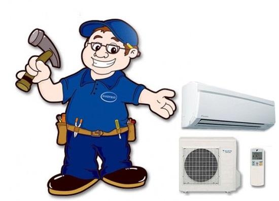 sửa máy lạnh tại nhà quận